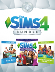 The Sims 4 Bundle: Get Together, Spa Day, Movie Hangout Stuff / PC