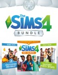 The Sims 4 Bundle: Get to Work, Outdoor Retreat, Luxury Party Stuff / PC
