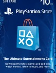 $10 PlayStation Store Gift Card / PlayStation 4